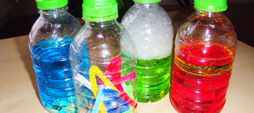 Развивающие бутылочки