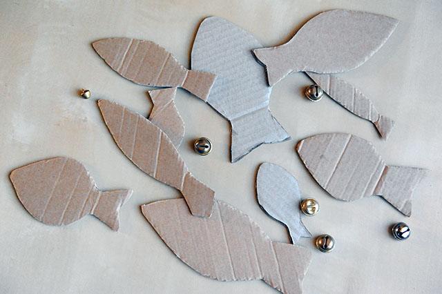 Самодельная магнитная рыбалка с цифрами