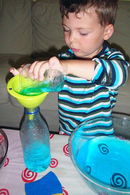Развивающие игры с водой