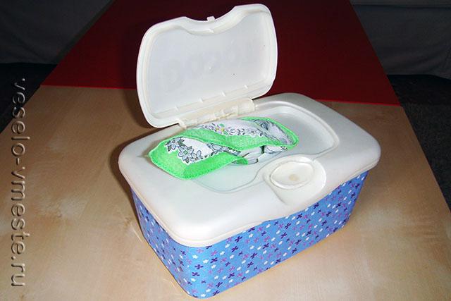 Самодельная игрушка из коробочки от салфеток