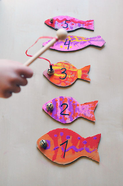 Магнитная арифметическая рыбалка
