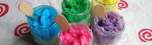 Съедобные пальчиковые краски