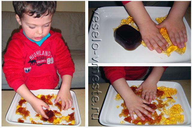 Эксперименты с желе