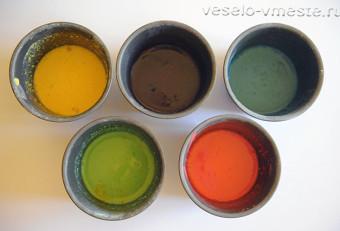Яичные краски